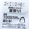 JXTGエネルギー夏祭り!~総額7,000万円分当たる!~