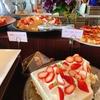 キッチン・サルバトーレ・クオモの苺のデザートブッフェ付きランチ(京都・伊勢丹)