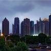 スタートレイル(レンズはLaowa)で上海のテレビ塔辺りを撮る。割と面白い動画になりました。