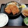 西川口の「あおき食堂」でチキンカツとハムカツ定食を食べました★