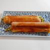 魚肉ソーセージがメインになる、魚肉ソーセージと大豆もやしの春巻き