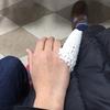 不要の外食は出来るだけ控える / チナミ、突き指は剥離骨折しちょった!(;・∀・)