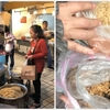 【台湾】その④「龍山寺」門前グルメ、三六圓仔店、胡椒餅、碗粿、肉圓、魯肉飯、龍都冰果、、、
