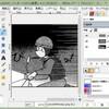GIMPでマンガに効果線を引く一つの方法