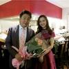 【リストランテ ペガソ】横山幸雄さんコンサートディナーにて、「オステリア オリエーラ」出身・古井シェフのお料理を