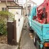 「春日町の家」敷地測量
