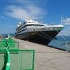外国クルーズ船『ロストラル』入港歓迎式