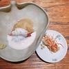 殿堂入りのお皿たち その461【肉割烹 上 の 魚介の一皿】