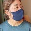 肌荒れリスクを減らす綿マスクとシルクマスク|顔のカーブに沿った立体パターンで小顔効果