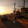 鎌倉白玉「雲母」と湘南夕焼け海岸
