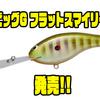 【Green Fish TACKLE】バルサボディのフラットサイドクランク「ビッグG フラットスマイリー」発売!
