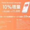 LINE Payからチャージ可能なポレットカードにVisaバーチャルカードが登場、しかもチャージ額に対して10%増量