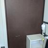 寝室のクローゼットのドアを安易にリフォームしてみた