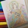 「美しい仏画編」で大人の塗り絵コンテストに初めて応募してみた
