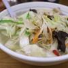 福しんの国産野菜タンメンは野菜がモリモリ