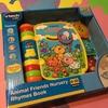 夫の上司からアリスへプレゼント!VTech(ヴイテック)のAnimal Friends Nursery Rhymes Book( どうぶつたちと歌う絵本)とミッキーのお皿☆
