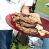 【BBQ飯】肉と魚