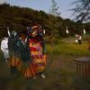 山形県酒田市·遊佐町吹浦の獅子舞を見てきた