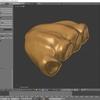 Blenderでモンスター型のキャラクターモデルを作成する その2(スカルプトで形を造形する)