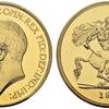 イギリス1911年ジョージ5世5ポンド金貨PCGS PR66CAM