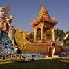 「ワット チャイ チュムポン チャナ ソンクラーム」、「ワット テーワ サンカーラーム」、「ワット ターウォン ワラーラーム」~カンチャナブリーの市街の寺院を巡る!!