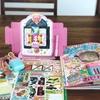 幼児用雑誌の付録の収納