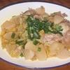 大根と白菜と豚肉の煮物 ヘルシオホットクックで自炊(86)