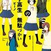 『女子高生の無駄づかい』1~4巻 | 打ち切りからのアニメ化を喜ぶ