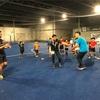 ラグビースカイパラダイスの5月練習風景