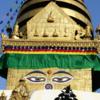 ネパ-ルの世界文化遺産 カトマンドゥ盆地   その⑤スワヤンブ-ナ-トの二回目