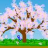 「桜ひらひら花吹雪」ビスケット プログラミング(自作ゲーム)
