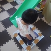 【0円工作】牛乳パックをつなげて平均台を簡単に作る。おうち遊びでバランス感覚が身につくかな?