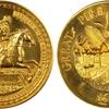 イギリス 1966年ロンドン大火 ゴールドメダル 重量メダル