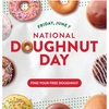 6月第一金曜日はナショナルドーナツデー!多くのドーナツ屋さんで無料ドーナツがもらえるよ♡