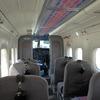 こんな飛行機にも乗ってました。