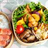 #427 鶏ムネ肉とインゲン・サツマイモの甘辛炒め弁当