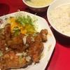 新宿の大阪王将で油淋鶏定食♪♪