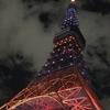 11月6日(火)hatenaより夜の東京タワー。