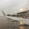 豪雨の中ヨコハマへ、週明けヒロシマへ戻ります。