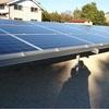 太陽光発電  パネル設置完了