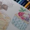 苺色とチョコレート色☆ホルベイン色鉛筆
