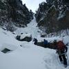 北海道山岳連盟 氷壁研修会