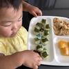 言葉をまねっこ  1歳8ヵ月の離乳食★生後636日目