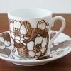 北欧ヴィンテージ食器|グスタフスベリ エマ コーヒーカップ&ソーサー