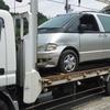 武蔵野市から遺産相続の車検切れ故障車をレッカー車で廃車の引き取りしました。