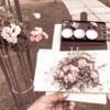 水彩deスケッチLIVE 中之島 バラを描く 2019