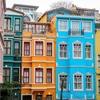 古いカラフルな町並みで人気・イスタンブールのフェネル・バラト地区