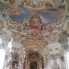 ミュンヘンへ行く途中 ヴィース教会とオーバーアマガウ