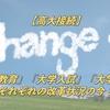 【高大接続】「高校教育」「大学入試」「大学教育」改革の内容!