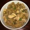 芋茎(ずいき)と鶏肉の煮物